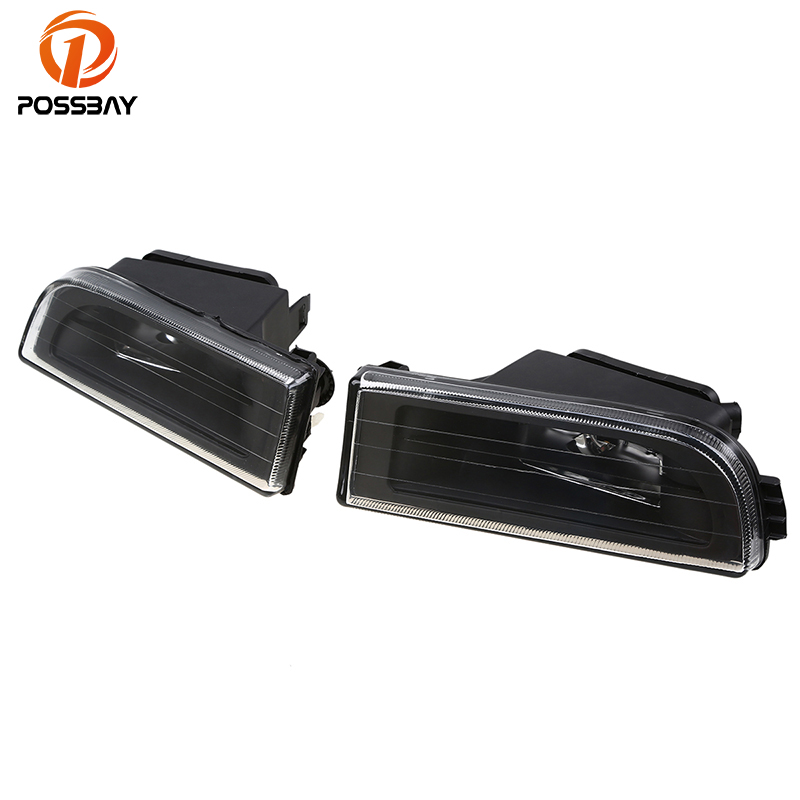 POPSSBAY Fog Lights for BMW E38 7-Serise 1995-2001 Car Replacement Front Lower Bumper Fog Lamps Clear Lens Housing fit for 04 05 06 07 08 bmw e60 5 series fog lights front lamps clear lens pair set usa domestic free shipping