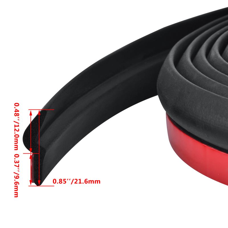 4M Universal Car Z Shape Rubber Seal Weather Strip Hollow Door Window Edge Moulding Trim Decorate Weatherstrip in Fillers Adhesives Sealants from Automobiles Motorcycles