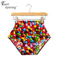 X-241 Sexy Hot Women Shorts High Waist Cartoon Print  Shorts Summer Color Bottom
