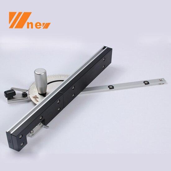 Carpenter's Workshop,Miter Gauge And Box Joint Jig Kit With Adjustable Flip Stop