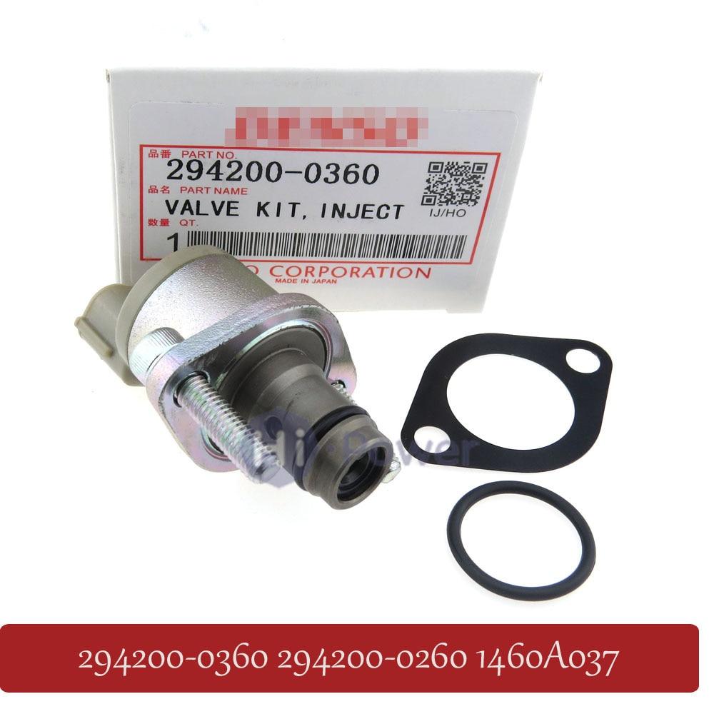 Original 294200 0360 294200 0260 Fuel Pump Metering Solenoid Valve Measure Unit Suction Control SCV Valve
