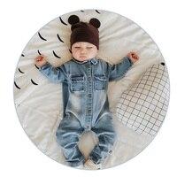 2017 Soft Denim Baby Romper Graffiti Infant Clothes Newborn Jumpsuit Babies Boy Girls Costume Cowboy Fashion