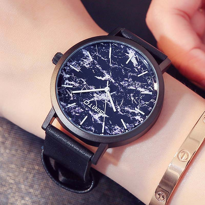 GIMTO Wrist Watch Women Fashion Quartz Leather Watches Top Luxury Brand Ladies Dress Clock Female New Clock Relogio classic new fashion women watch simple style top famous luxury brand quartz watch leather ladies dress watches relogio feminino