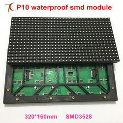 Высокое качество P10 полноцветный модуль для рекламы огромный СВЕТОДИОДНЫЙ экран, smd, 1R1G1B, 2 сканирования, 10000 точек/m2