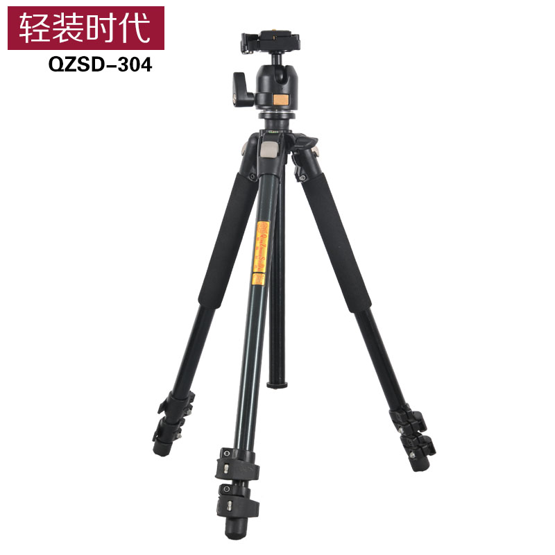 Q304 aluminum camera font b tripod b font fluid damping ball head professional font b tripod