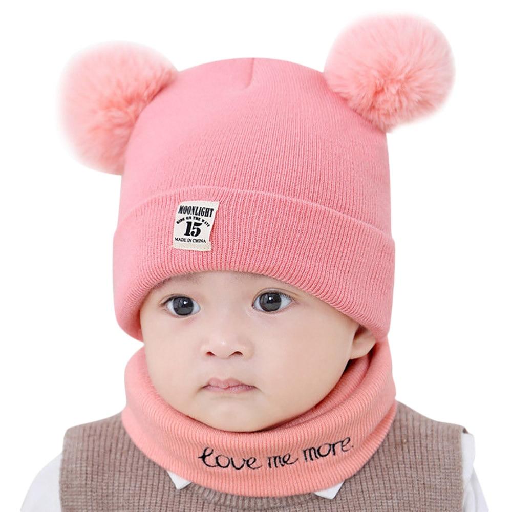 d692e3071 Caps & Hats ND_ Toddler Kid Girl Boy Baby Infant Winter Warm Crochet ...