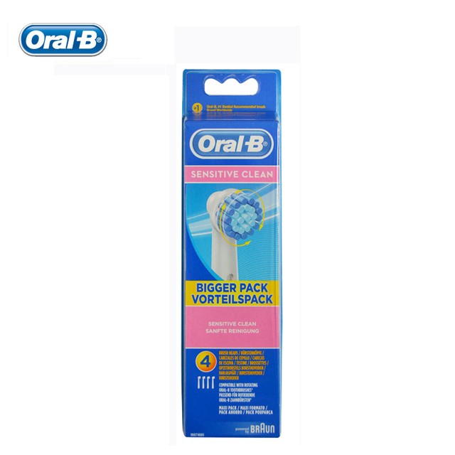 Oral B NUEVA Genuino Original Del Reemplazo higiene cepillo de Dientes Eléctrico Dirige el EB17-4 Cabezas para DB4510/D12/D16/D20/D34