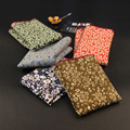Casual Cotton Man Pocket Square Flowers Gentleman Handkerchiefs For Banquet Formal Suit Chest Napkin Vintage Apparel Accessories