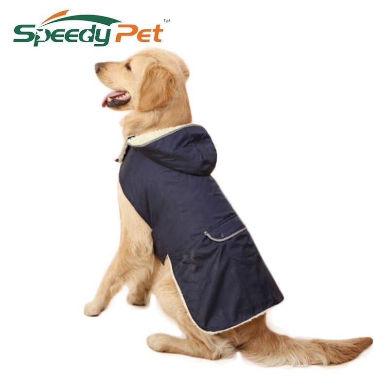Wholesale Cheap!Dog Clothes Dog Winter Thick Removable Cap Clothing Large Dog Vest Warm Ap