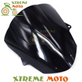 De Plástico negro de La Motocicleta Parabrisas Parabrisas Para ZX10R ZX-10R ZX 10R 2008 2009 2010 Motocross Moto Dirt Bike Shiping Libre