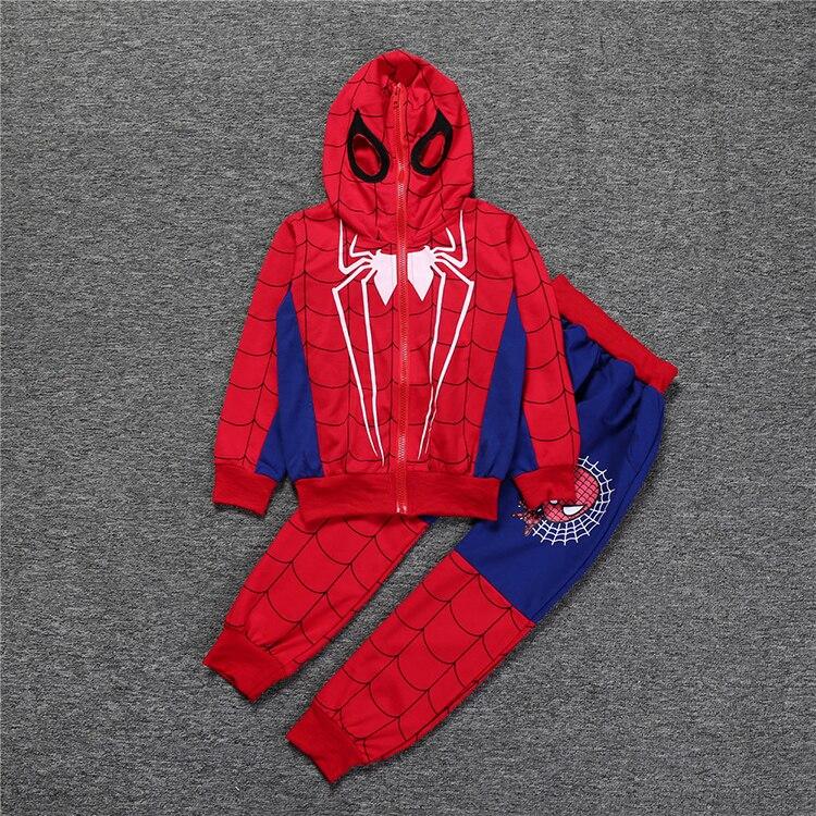 Spiderman Costume Kids