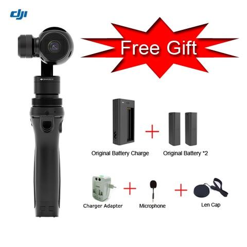 Free Gift ! Original DJI Osmo Handheld 4K Camera Gimbal 3-Axis Gimbal Aerial Photography DJI phantom 3
