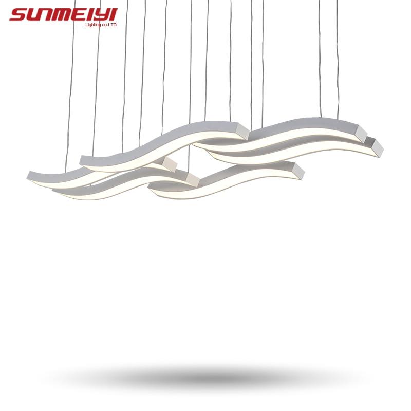 Modern led pendant light hanging ceiling lamp dining room - Lamparas techo ...