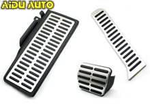 цены Sport Stainless Steel Automatic AT MT Pedal For VW Passat B6 B7L CC
