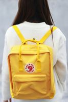 Fashion Middle School Students Bag Leisure And Waterproof Double Shoulder Bag Oxford Schoolbag Student Backpack Kanken