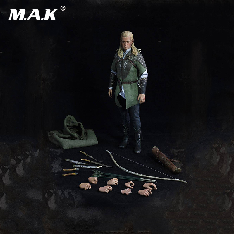1/6 Scale Full set Soldier The Lord of the Rings Elven prince Legolas Action Figure toys Model for Collections 1 6 scale full set male action figure kmf037 john wick retired killer keanu reeves figure model toys for gift collections