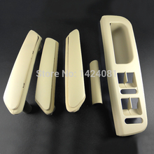 5x Beige Interior Door Handle With Trim 3B0867172 3B4867372 For VW Passat B5 3B4867179A 3B4867180A  3B0867180A  3B0867172