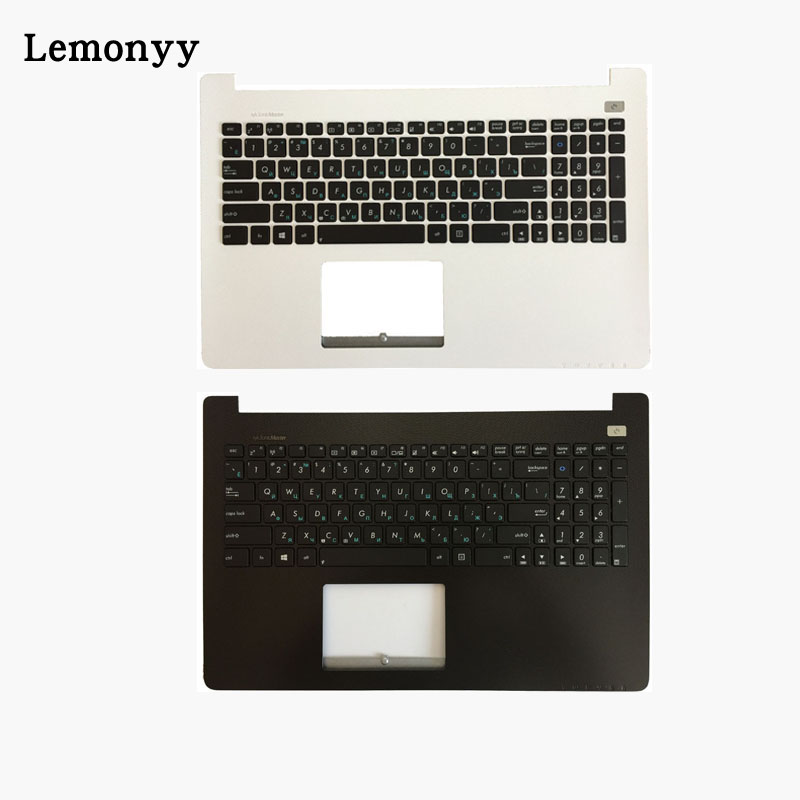 Russian laptop keyboard for ASUS X502 X502C X502A X502U X502EI X502X X502CA RU with Palmrest Upper cover black color free tempered glass lcd display touch screen digitizer home button front camera assembly for iphone 6s 4 7 inch