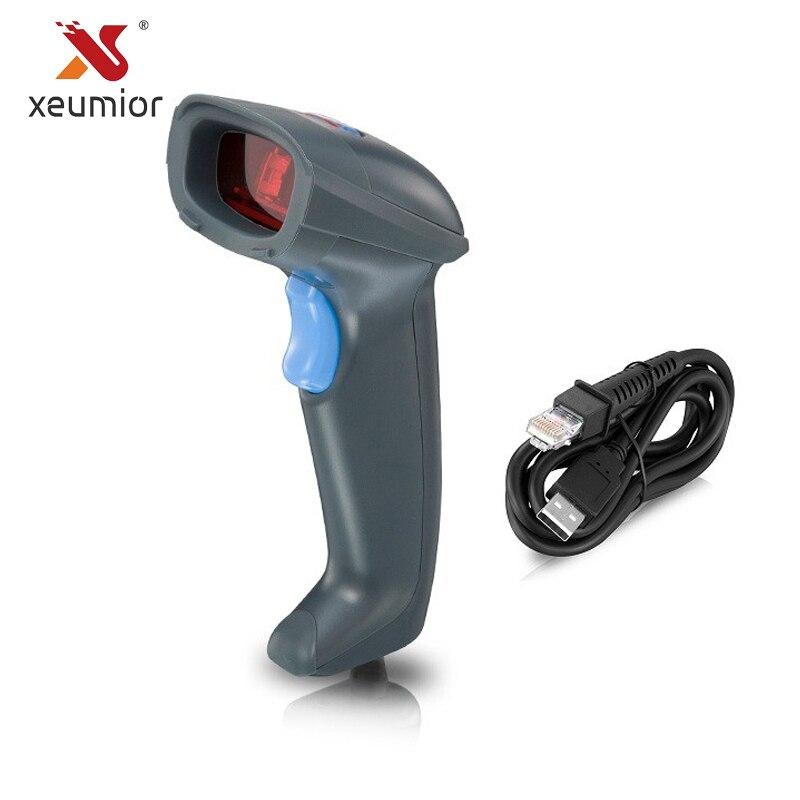 Xeumior Ручной штрих проводной сканер POS товара сканирование чтения ручной штрих-код USB betaling conmputers для Supermarkt