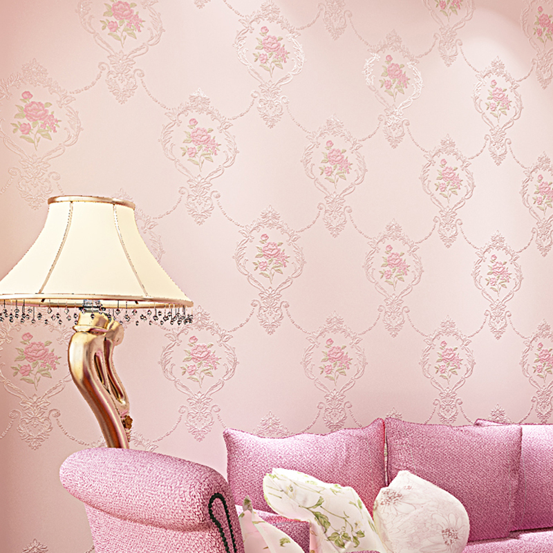 European Pastoral Floral Non-woven 3D Wallpaper Flowers Mural Papel de Parede Bedroom Wall Paper for walls home decor LY064 make international keith brymer jones punk range sugar bowl sugar stay or sugar go