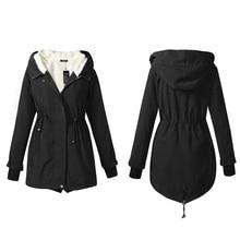 Winter Fur Hooded Womens Parkas Coats