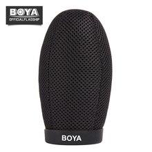 BOYA BY-T120 Dentro de Profundidade 120mm Microfone Espuma Windscreen Brisa Do Vento Escudo para Professional Shotgun Microfone Acessórios