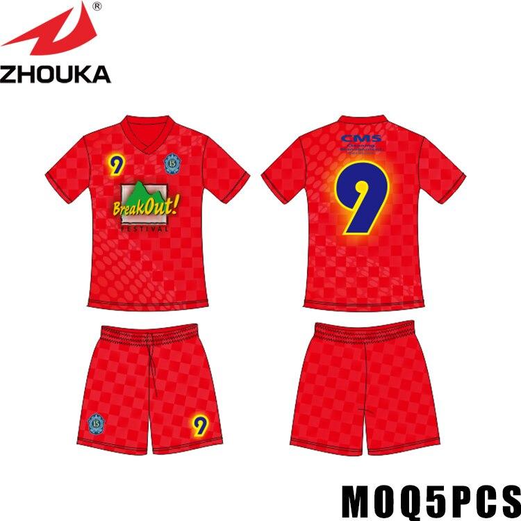 Uniforme personnalisé constructeur camouflage t-shirt créer maillot de football maillot de football fabricant maillot de football Futbol chemise Sportswear