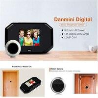 DANMINI Wireless Doorphone 3 0 Inch LCD Video Intercom Home Security Doorbell Monitor Video Photo Shooting