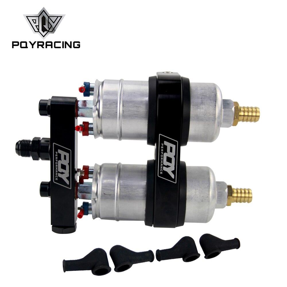 Obligatorisch Einem Pc Doppel Loch Pqy Kraftstoff Pumpe Halterung Mit Logo + Zwei Stück 044 Kraftstoff Pumpe 300lph Pqy-ld2642 + Fpb044