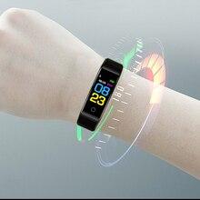 Модные часы Smart watch для мужчин для женщин для смарт-часы для Android IOS Спортивный Браслет фитнес трекер Электроника умные часы группа смарт-часы