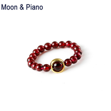 Natural  Red Garnet Ring 925 Sterling Silver Noble Women High Quality Fine Jewelry  Promise Rings Party Wedding Nice Gift hutang new style natural aquamarine promise ring solid 925 sterling silver gemstone ring fine jewelry wedding women s rings gift