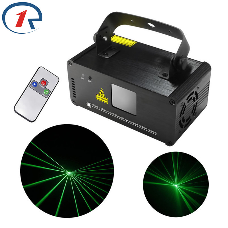 ZjRight IR Remote DMX512 Professional 50mw Green Laser Stage Light gala party Projector beam laser light Bar KTV dj disco Lights цена