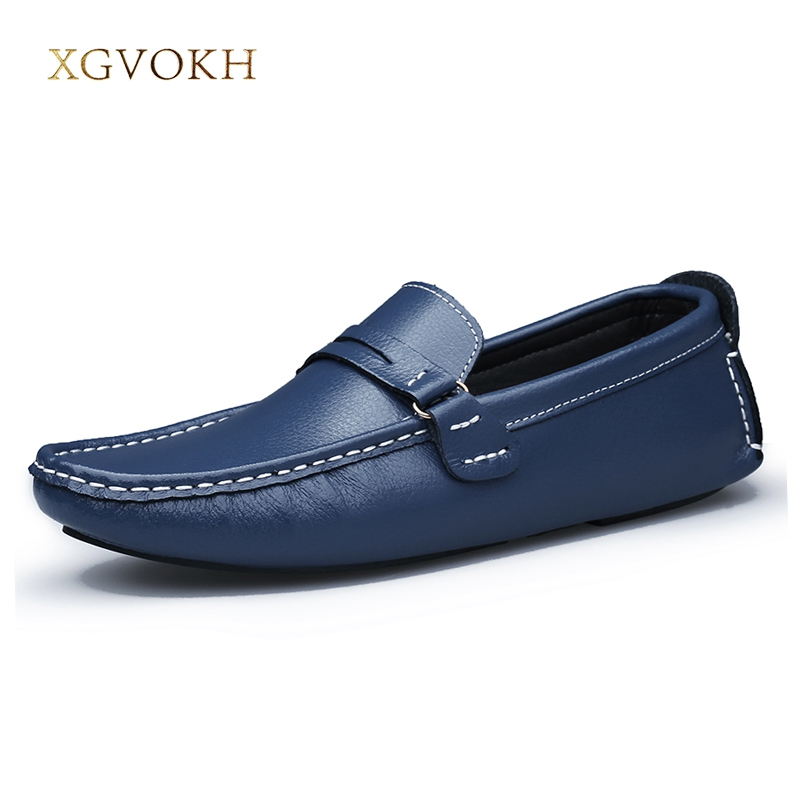 Men Soft Leather Loafers Male Moccasins Driving Shoes for Men Slip on Casual Boat Shoes Plus Size Light Flats Fashion Footwear brand new fashion summer spring men driving shoes loafers pu leather boat shoes breathable male casual flats loafers big size