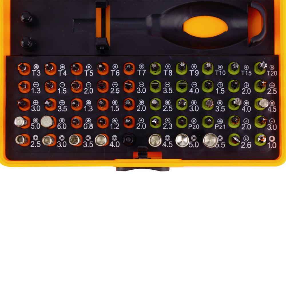 Купить 53 в 1 многоцелевой Precision Магнитный Набор Отверток с Trox Hex крест С Плоской Y Звезда Треугольник Отвертка для телефона Пк Новинка дешево