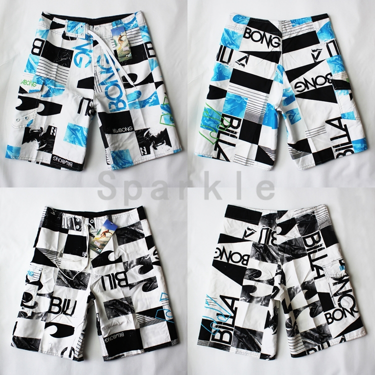 colorful checkered men beach shorts mens swimwear boardshorts surf shorts, outdoor pants S/M/L/XL/XXL - Summer Beach Fashion store