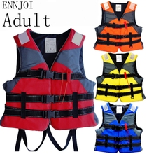 ENNJOI EPE Adult and Child Saving Life Jacket with whistle Water Sports Swimming Drifting Surfing Boating Ski Swimwear Life Vest