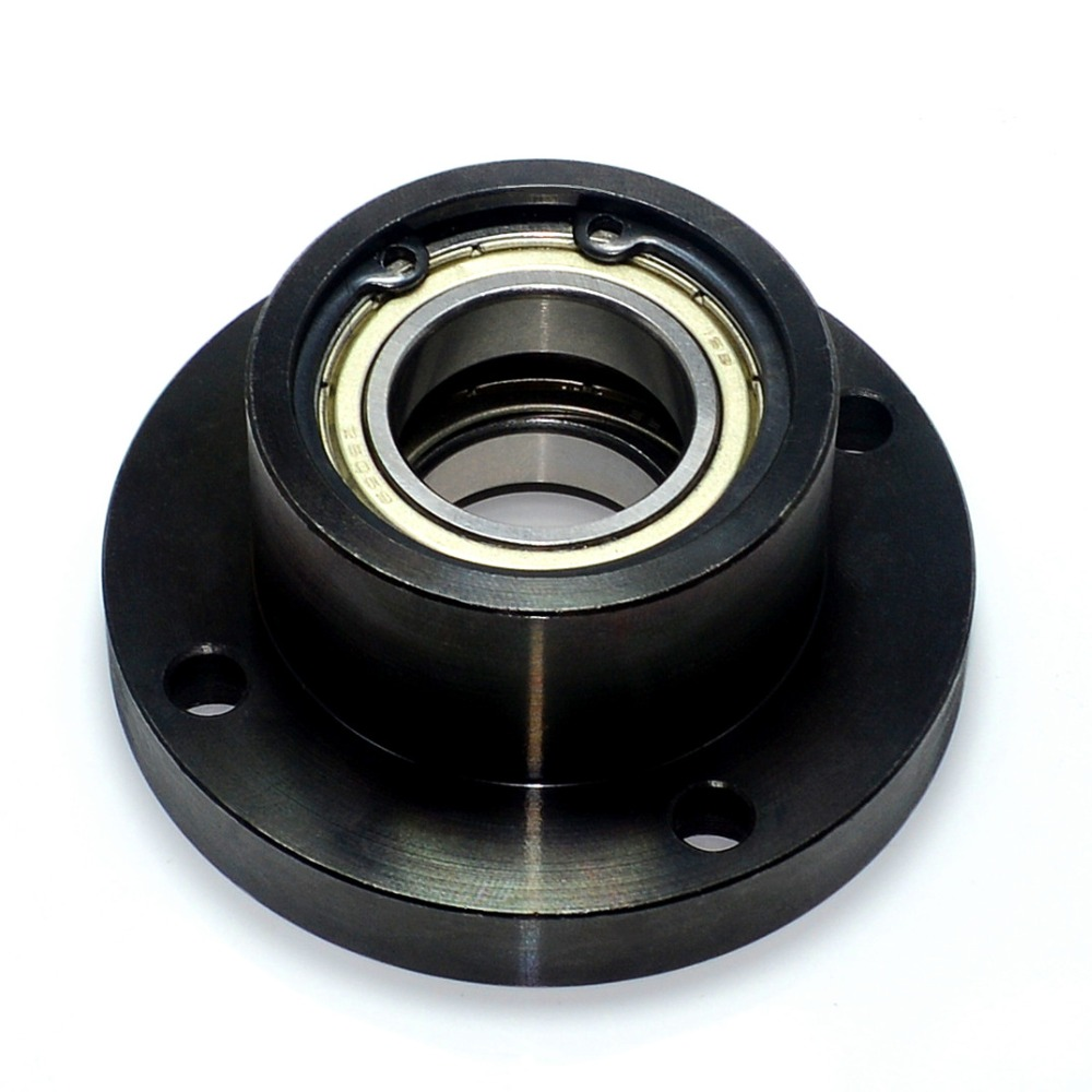 Carbon steel bearing with house Circular flange bushing type bearing seat bearing support double bearing seat positioning|Bearings| |  - title=