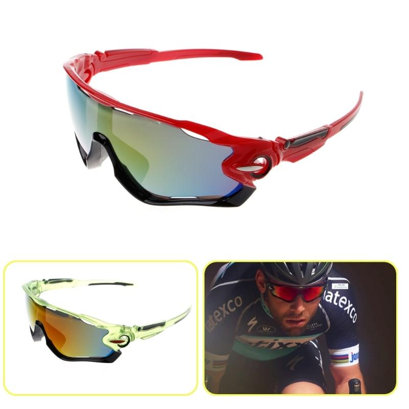 Cycling Equipment Sport Cycling Eyewear Outdoor Bicycle Sunglasses Eyewear UV400 Lens Sunglasses Bag Sunglasses box triangle design mirror lens sunglasses