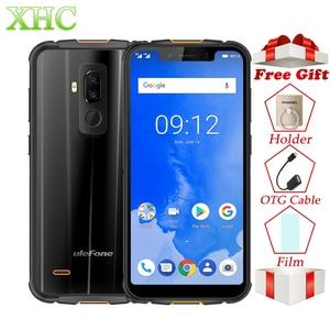 Image 1 - Ulefone Armor 5 IP68 Waterdichte 4 GB + 64 GB Mobiel Android 8.1 5.85 Octa Core NFC Gezicht ID draadloze Lading Dual SIM Smartphone