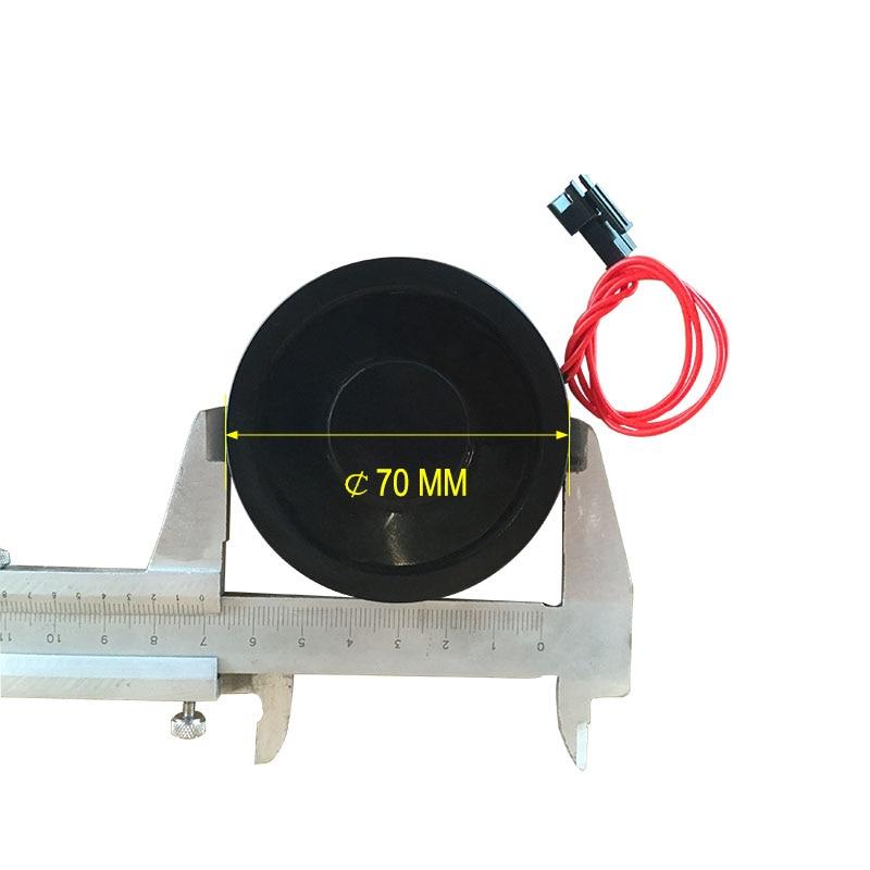 Car license plate electromagnet DC 12V 25KG diameter 70mm height 9mm  P70/9Car license plate electromagnet DC 12V 25KG diameter 70mm height 9mm  P70/9