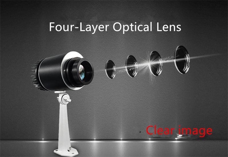 Personnaliser 15/25/30/50 W LOGO lampe étanche magasin signe Projection LOGO rotatif lampe publicité LOGO LED
