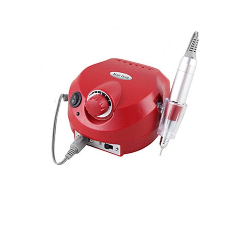 Sistema elettronico Nail Care Manicure Pedicure Nail Buffer di File Strumenti di Arte Del Chiodo lucidatore drill penna Micromotore lucidatura macchina - 2