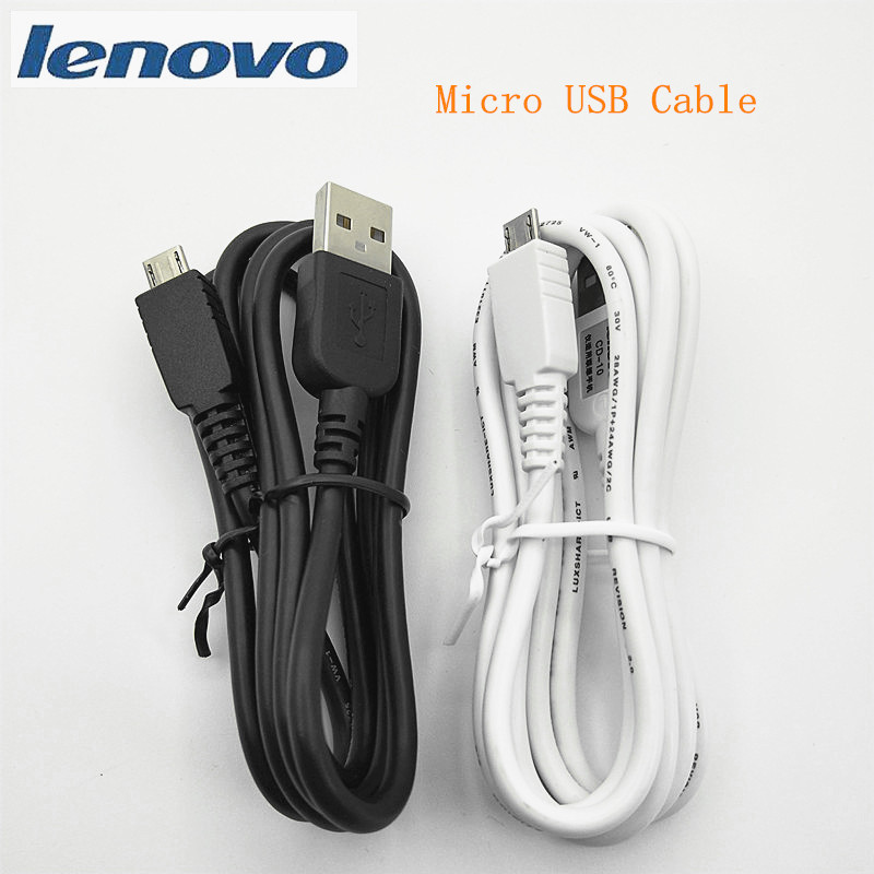 Lenovo Micro usb Cable Original Charging data line 100cm 2A Cord For Vibe P1 P2 K3 Note K5 play K320t ,PHAB2 Plus P70 S850-in Mobile Phone Cables from Cellphones & Telecommunications