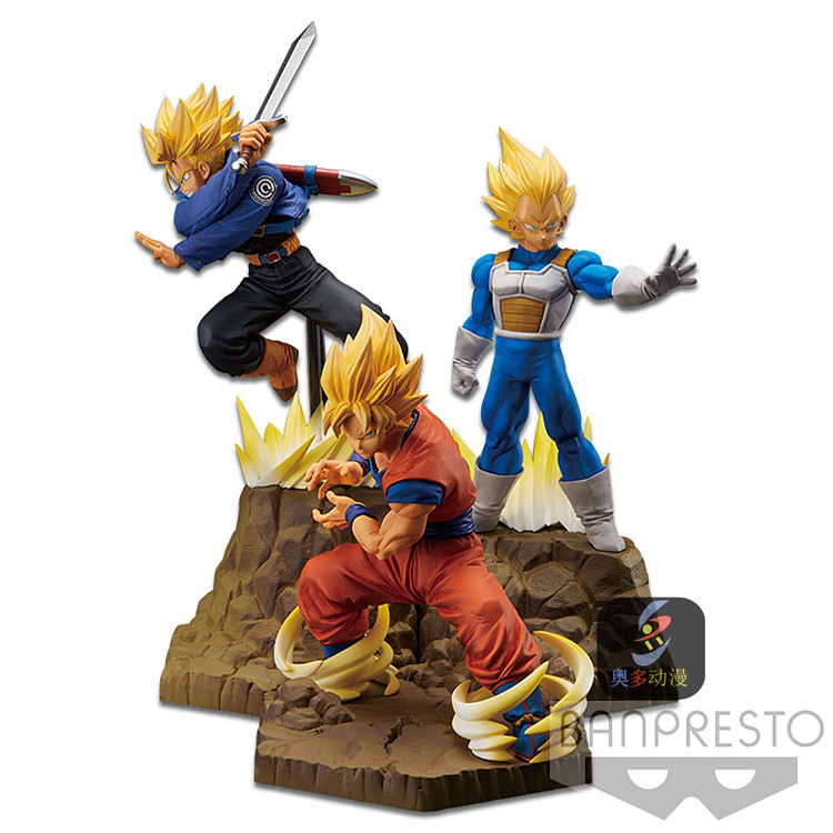 Dragon Ball Z APF Series Fighting Styling Vegeta Sun Wukong DOLL Action Collectible Statue Toy Figure