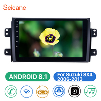 Seicane 2din Car Multimedia Player Bluetooth Android 8.1 WIFI GPS Navigation For Suzuki SX4 2006 2007 2008 2009 2010 2011 2012