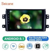 Seicane 2din Car Multimedia Player Bluetooth Android 8.1 WIFI GPS Navigation For Suzuki SX4 2006 2007 2008 2009 2010 2011 2012