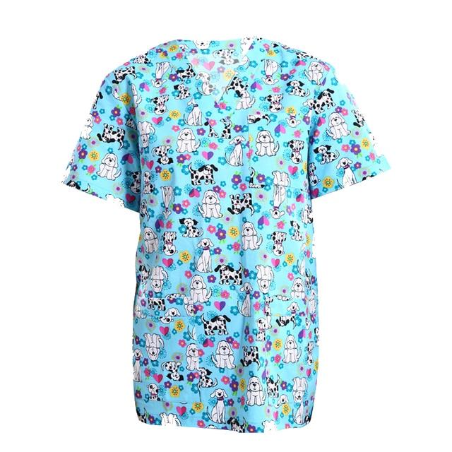 8432439701cbd Hospital Uniform Medical Scrubs TOP Nurse Uniform Medical Scrubs for Women  and Men Short Sleeves Filter Bleaching Beauty Centre