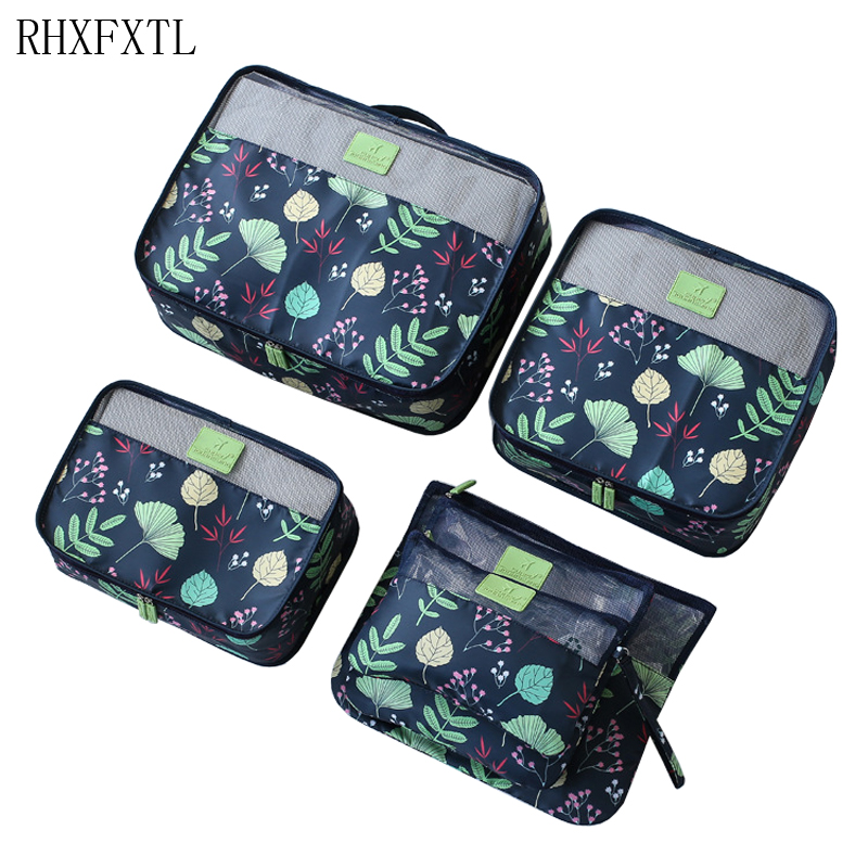 RHXFXTL 6 Piece Set Travel Women Packing Organize Sort Bag 6 Piece Set Unisex Clothing Sorting Organize Bags Travel Accessories