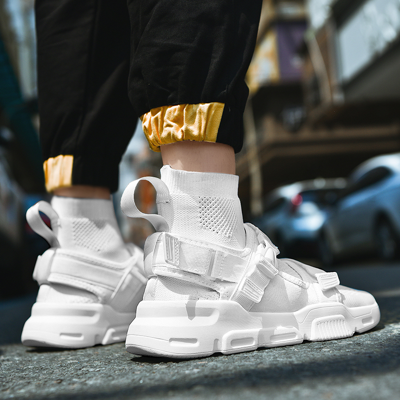 Leader Show/мужская повседневная обувь; модная брендовая мужская обувь; Черная Вулканизированная обувь для мужчин; дышащие кроссовки; Уличная обувь для отдыха
