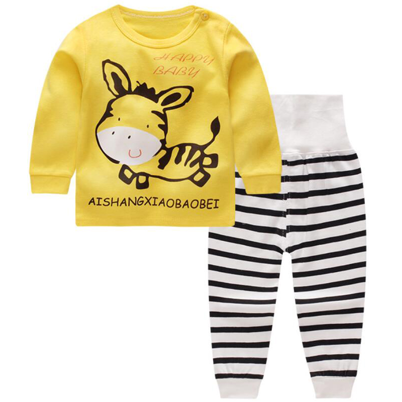 Sleepwear Kids Baby Pajamas Winter Kids Clothes Jacket childrens sports suits Toddler boy Clothing track suits for baby boys
